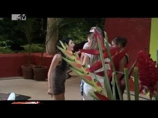 Ночь на вилле: Ночь 2 (06.09.2011). Драка Орхана и Дианы